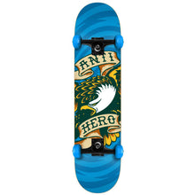 Load image into Gallery viewer, Antihero Eagle Hypno blue medium complete skateboard