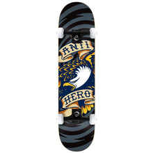 Load image into Gallery viewer, Antihero Eagle Hypno black large complete skateboard
