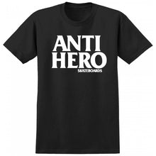 Load image into Gallery viewer, Anti Hero Black Hero black/white T shirt