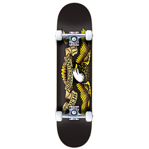 "Antihero Eagle Black 8"" complete skateboard"