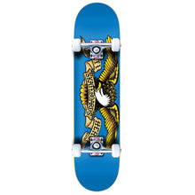 "Load image into Gallery viewer, Antihero Eagle Blue 7.75"" complete skateboard"