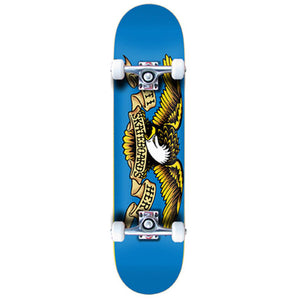 "Antihero Eagle Blue 7.75"" complete skateboard"