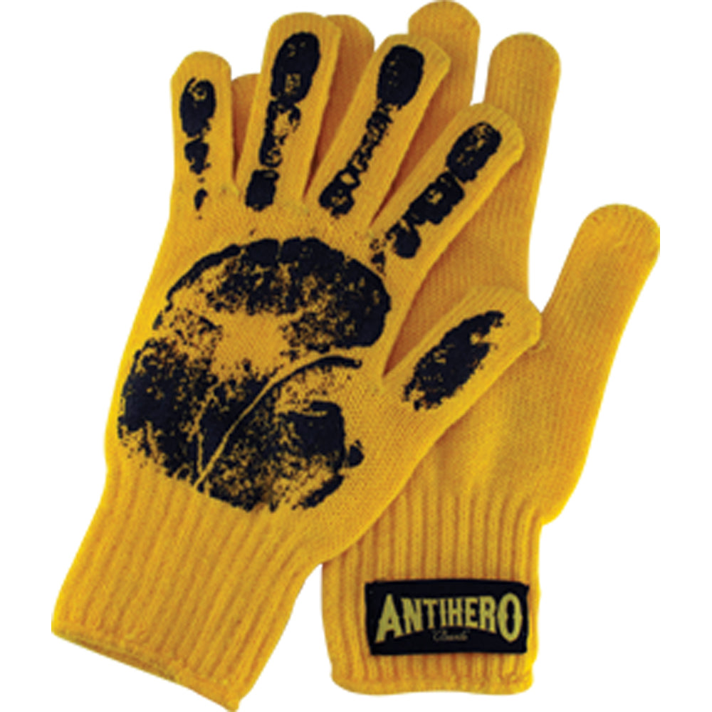 Antihero Yield yellow gloves