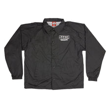 Load image into Gallery viewer, Baker Brand Logo black windbreaker