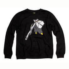 Load image into Gallery viewer, Benny Gold Tomahawk Black Crew