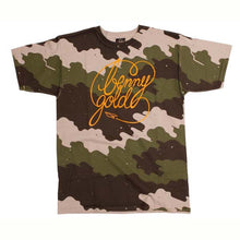 Load image into Gallery viewer, Benny Gold Fog Camo Green Camo T Shirt