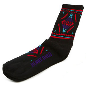 Benny Gold Native black socks