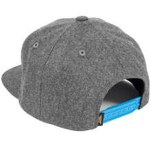 Load image into Gallery viewer, Benny Gold OM grey snapback cap
