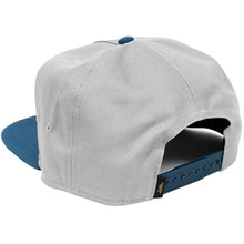 Load image into Gallery viewer, Benny Gold Victory grey/navy snapback cap