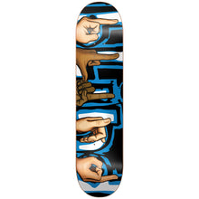"Load image into Gallery viewer, Blind Signs black/blue 7.75"" deck"