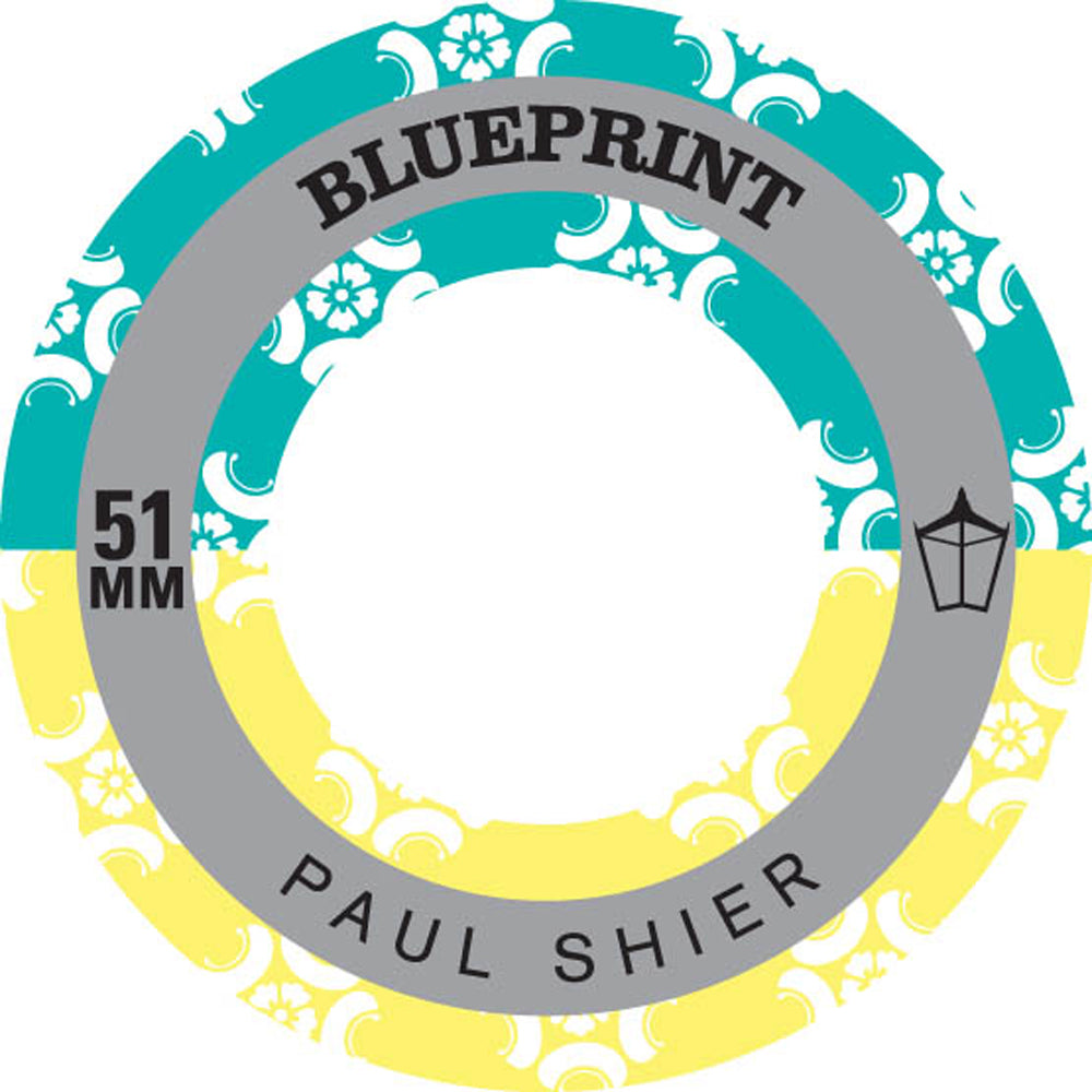 Blueprint Shier Papier Menage 51mm wheels
