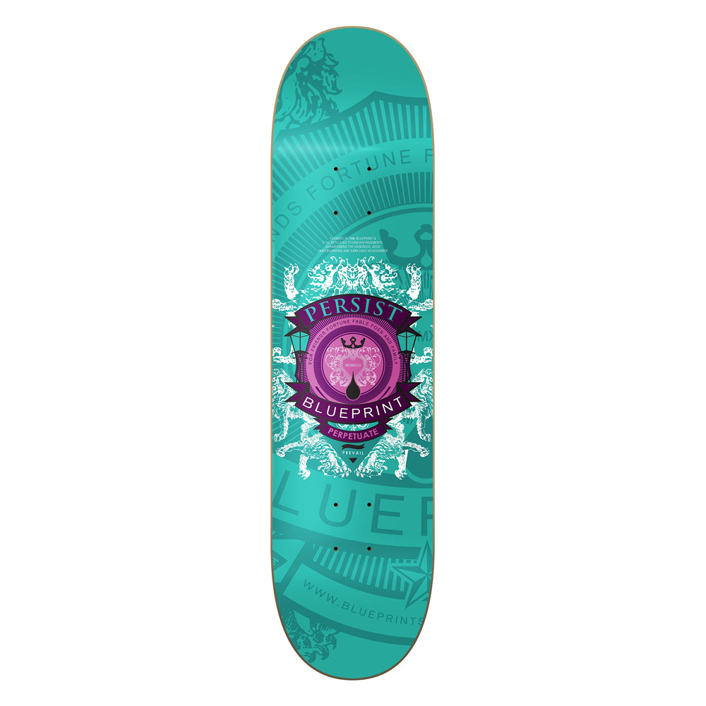 Blueprint Courage Colour sea green deck