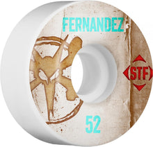 Load image into Gallery viewer, Bones STF Fernandez Vintage 52mm wheels