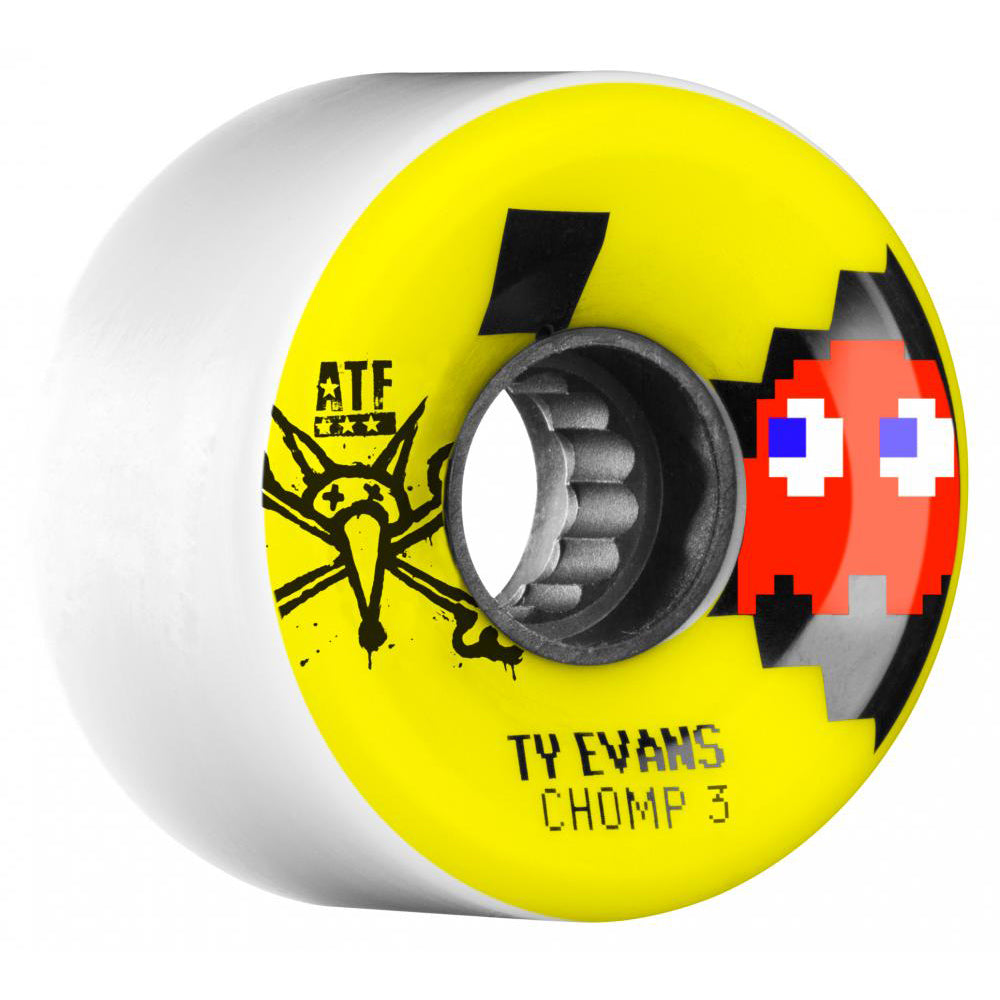 Bones Evans ATF Chomped III 62mm wheels