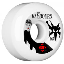Load image into Gallery viewer, Bones V5 STF Raybourn Audrey II 53mm wheels