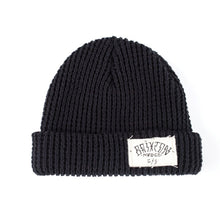 Load image into Gallery viewer, Brixton Borroego black beanie