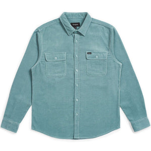 Brixton Bowery flannel shirt jade
