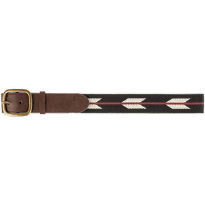 Brixton Course black/burgundy belt