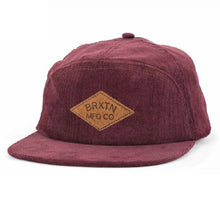 Load image into Gallery viewer, Brixton Wharf maroon cap