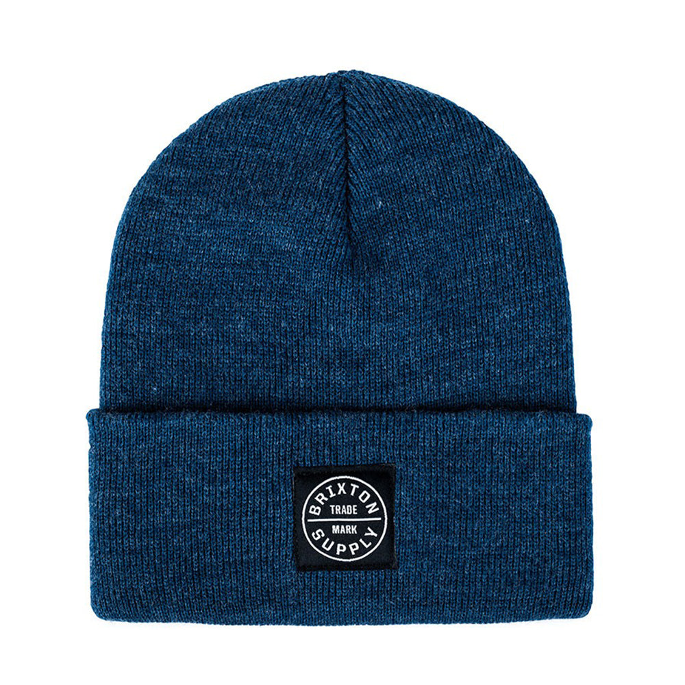 Brixton Oath Watch Cap washed denim beanie