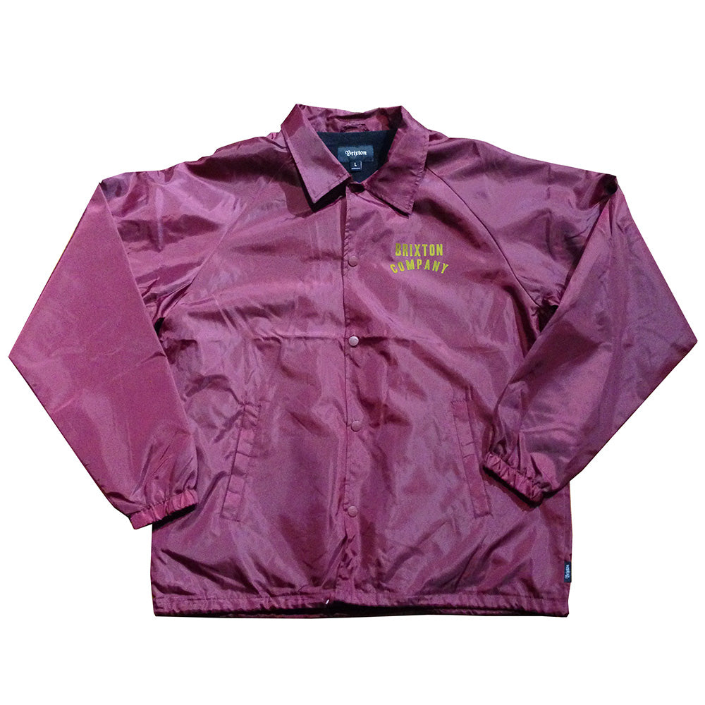 Brixton Woodburn burgundy jacket