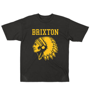Brixton Anthem black T shirt