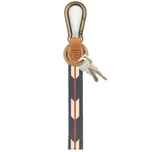 Load image into Gallery viewer, Brixton Richard black/cream key clip