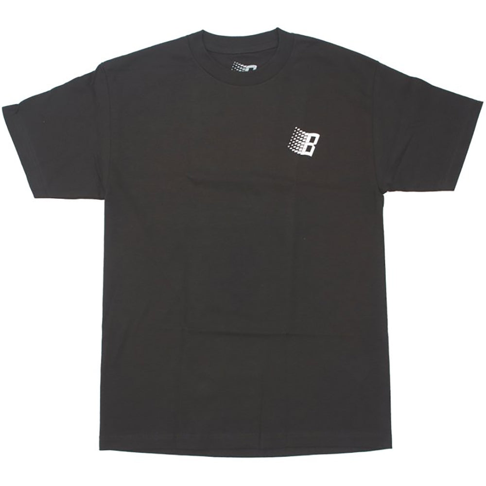 Bronze B Logo Diamond Plate T shirt black
