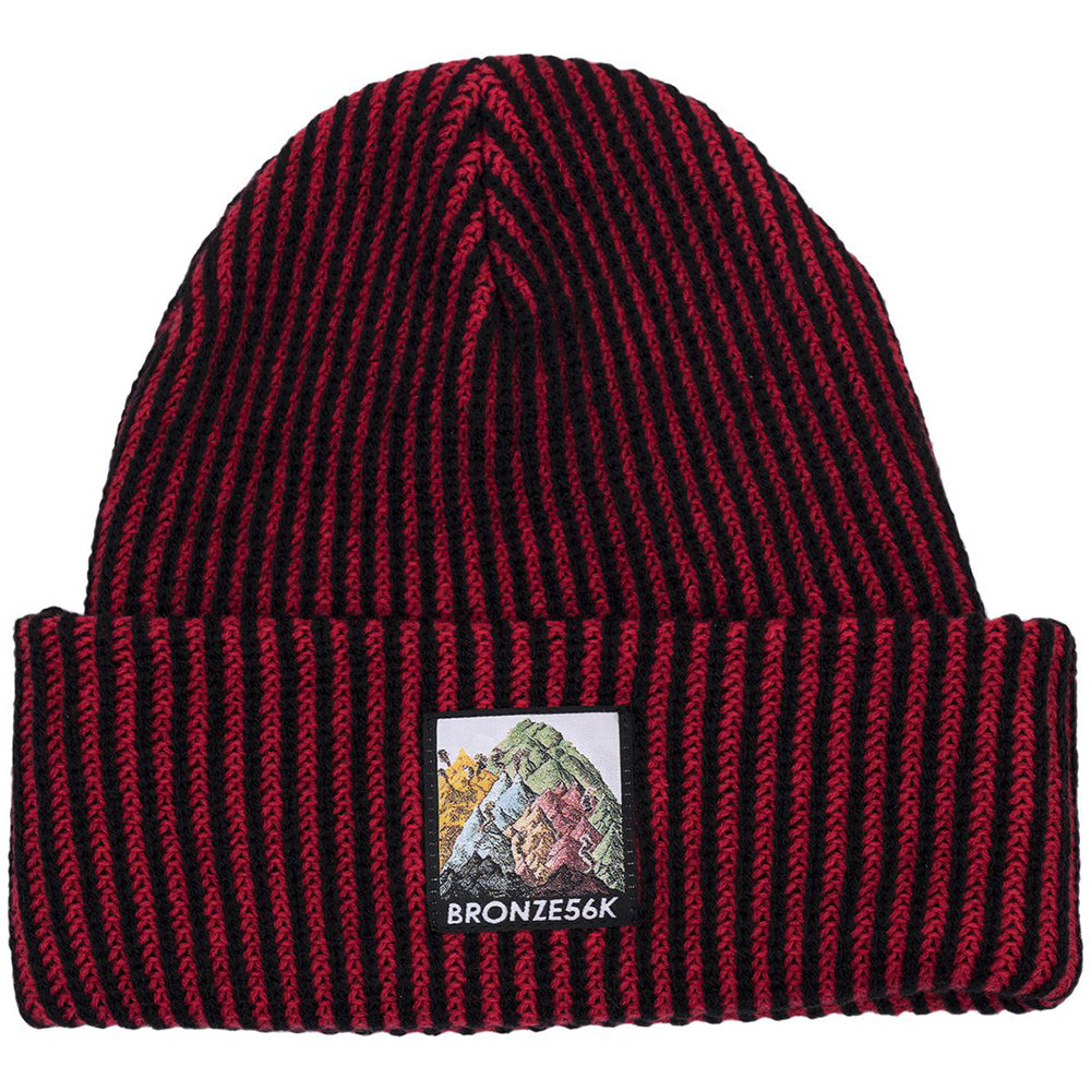 Bronze Mountain Beanie red