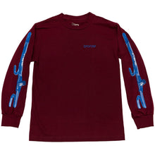 Load image into Gallery viewer, Bronze The Club cardinal long sleeve T shirt