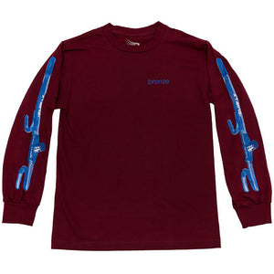 Bronze The Club cardinal long sleeve T shirt