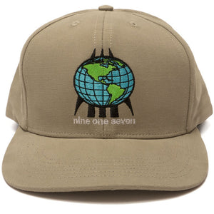 Call Me 917 World One Seven hat grey