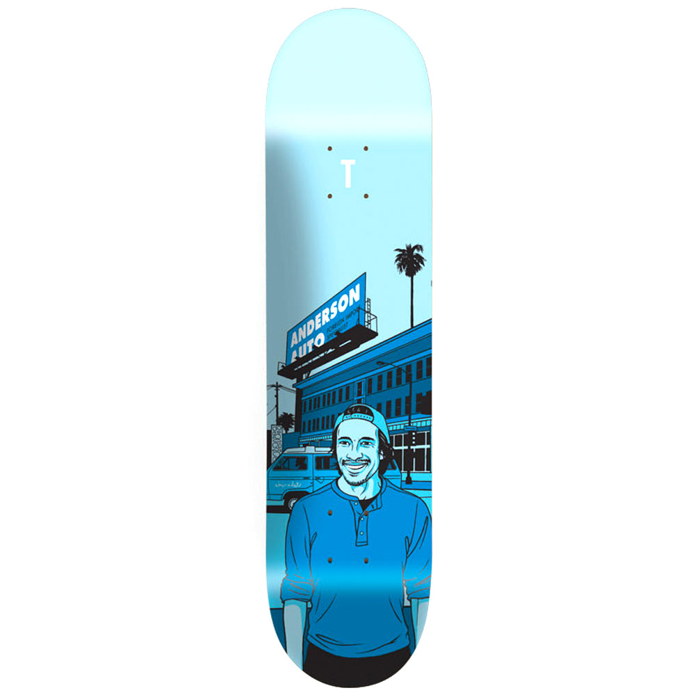 Chocolate Anderson 2014 City deck 8.125