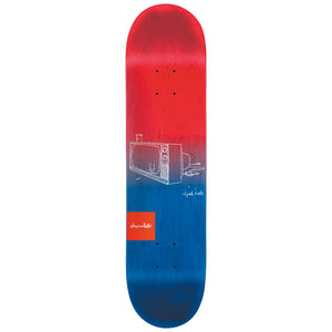 Chocolate Berle Sketch fade deck 8.5""