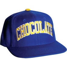 Load image into Gallery viewer, Chocolate By Starter blue/yellow snapback cap