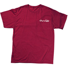 Load image into Gallery viewer, Chocolate Chunk Tri Blend cranberry T shirt