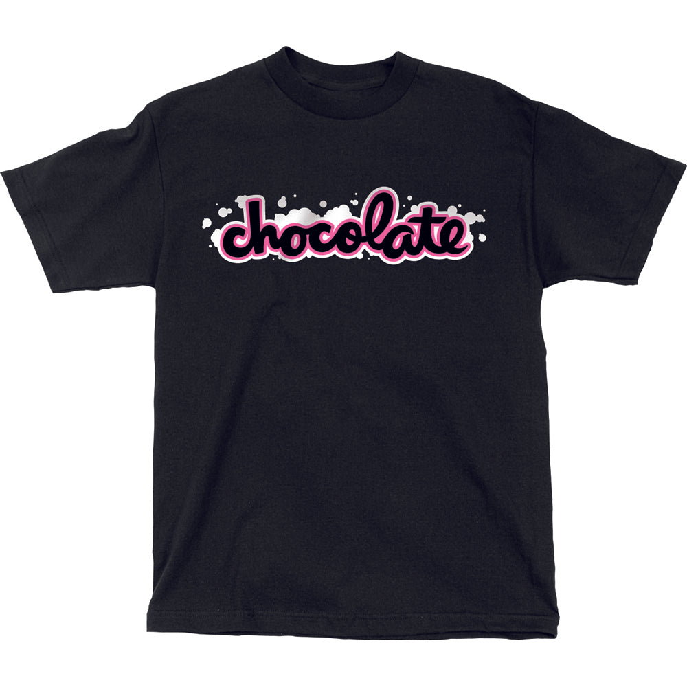 Chocolate Chunk Wash black T shirt