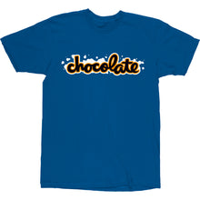 Load image into Gallery viewer, Chocolate Chunk Wash navy T shirt