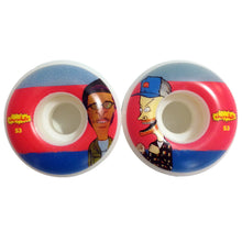 Load image into Gallery viewer, Chocolate Jer & Mj Stout 53mm wheels