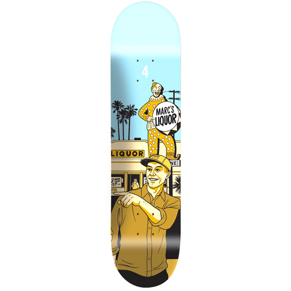 Chocolate Johnson 2014 City deck 8.125