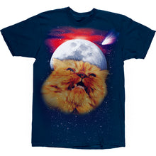Load image into Gallery viewer, Chocolate Mystical Garvey navy T shirt