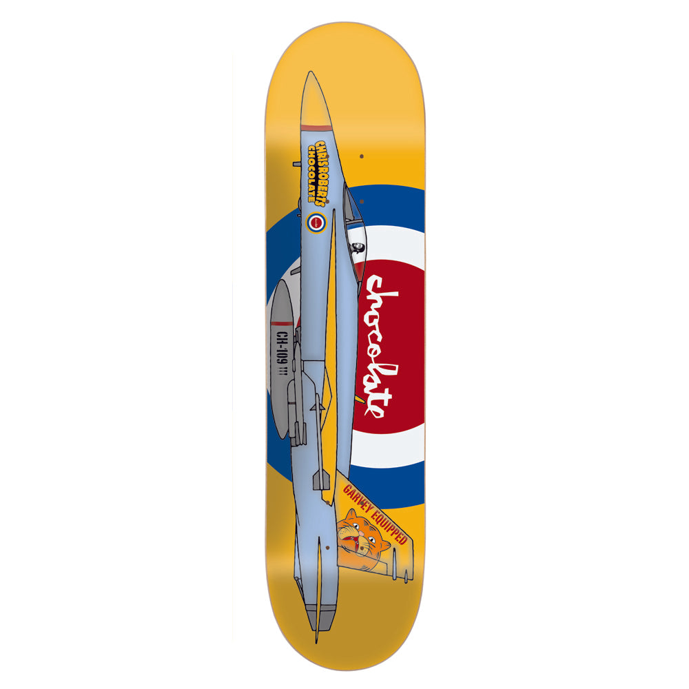 Chocolate Roberts Fighter Jet deck