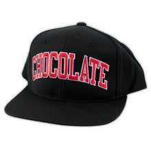 Load image into Gallery viewer, Chocolate by Starter black snapback cap