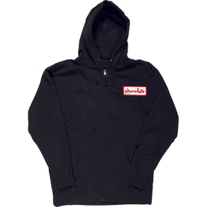 Chocolate Station Patch black zip hood