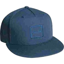 Load image into Gallery viewer, Chocolate Tonal navy snapback cap