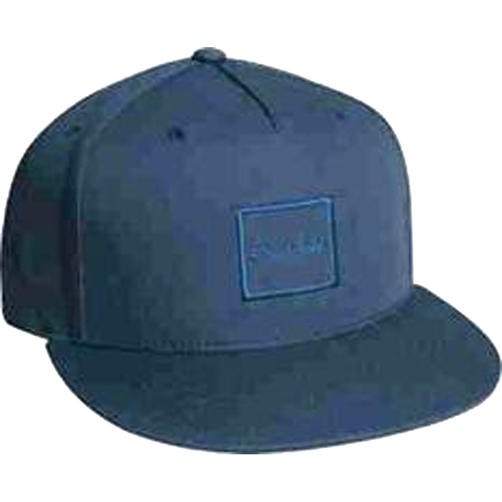 Chocolate Tonal navy snapback cap