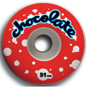 Chocolate Chunk Wash 51mm wheels