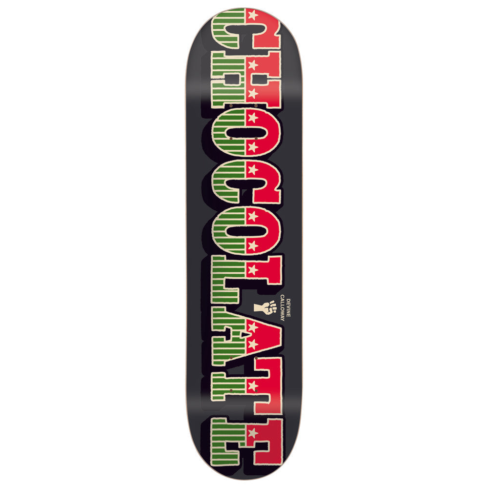 Chocolate Calloway Stars and Bars deck