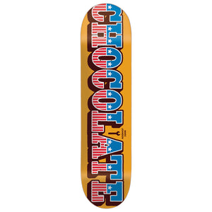 Chocolate Johnson Stars and Bars deck