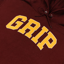Load image into Gallery viewer, Classic Grip hoodie burgundy